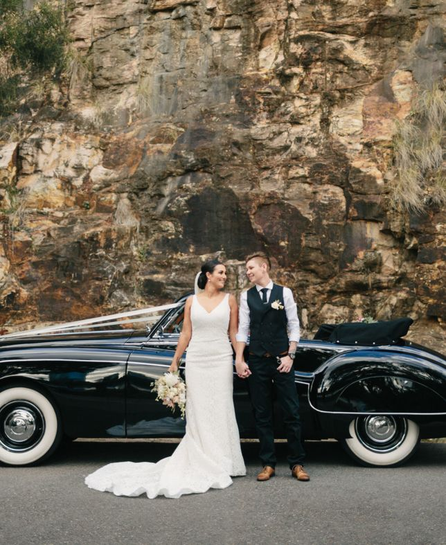 Convertible Wedding Car Hire Brisbane